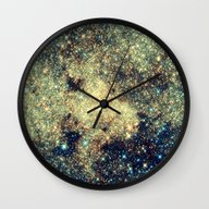 Wall Clock featuring Galaxy by 2sweet4words Designs