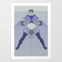 The Hanging Legs  Art Print