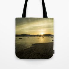 Torridge estuary sunset  Tote Bag