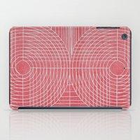 Robotic Boobs Red iPad Case