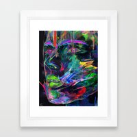 Ecru Framed Art Print