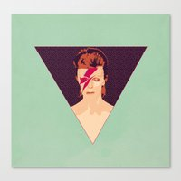 David Bowie/Aladdin Sane Canvas Print