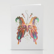 Monarch Butterfly of Spades Stationery Cards