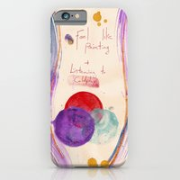 Painting & Coldplay iPhone 6 Slim Case