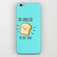 Cheesy Greetings! iPhone & iPod Skin