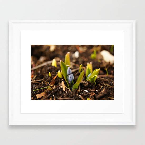 Welcome to the world Framed Art Print