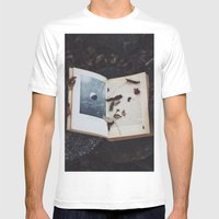 Book Of The Stars Mens Fitted Tee White SMALL