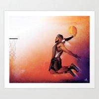 When Kings Fly Art Print