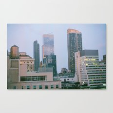 Middle of Midtown Canvas Print