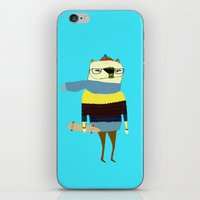 Bear Skateboarder, Skate… iPhone & iPod Skin