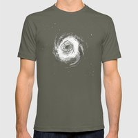 Spiral Galaxy 1 Mens Fitted Tee Lieutenant SMALL
