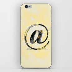 At Sign {@} Series - Baskerville Typeface iPhone & iPod Skin