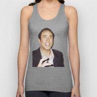 Nicolas Cage Unisex Tank Top