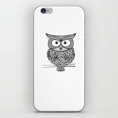 Hoot! Says the owl iPhone & iPod Skin