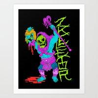 ZKELETOR (Imposter) Art Print