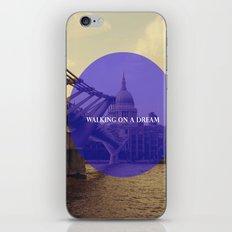 Walking On A Dream iPhone & iPod Skin