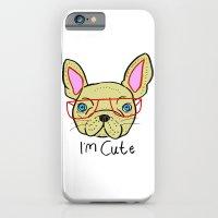 I'm Cute French Bulldog iPhone 6 Slim Case