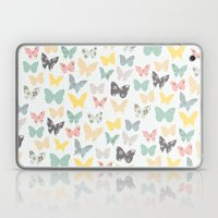 Butterflies Pattern Laptop & iPad Skin