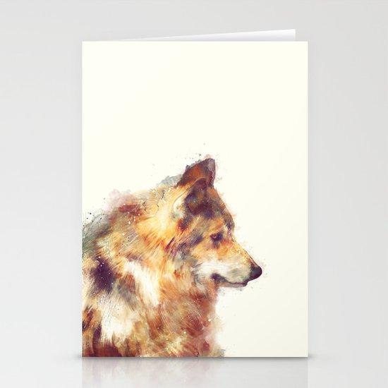 Wolf // True Stationery Card
