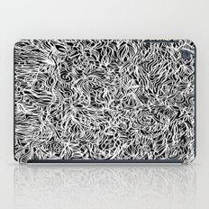 White and Black iPad Case