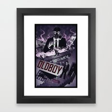 Oldboy [limited color] Framed Art Print