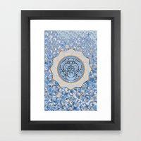Cubandala Framed Art Print