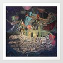 The Very Extraordinary Voyage Art Print