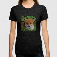 FOXY Womens Fitted Tee Tri-Black SMALL