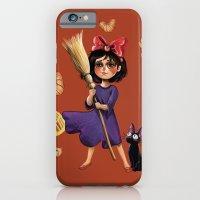 iPhone & iPod Case featuring Kiki and Jiji by Kristin Frenzel