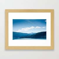 Swift Lake WA Framed Art Print