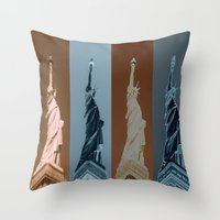 4Liberty Throw Pillow