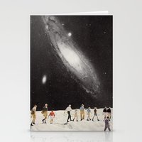 hiking under the stars Stationery Cards