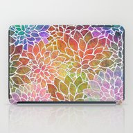 Floral Abstract 6 iPad Case