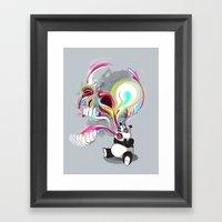Color Exorcism Framed Art Print