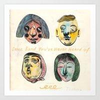 Album cover Art Print