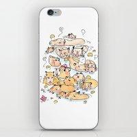 Wild family series - Capybara iPhone & iPod Skin