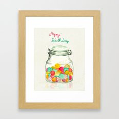 sweets for my sweet Framed Art Print