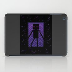 Here comes the Enderman! iPad Case