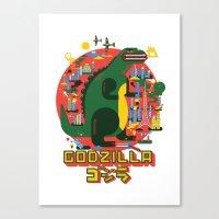 GODZILLA Canvas Print