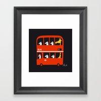 A Tall Passenger Framed Art Print