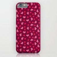 Teddies and hearts iPhone 6 Slim Case