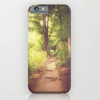 iPhone Cases featuring The Path Home by Pete Edmunds