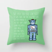 Happy Meal - Toy Throw Pillow