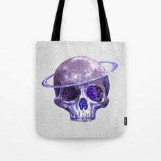 Cosmic Skull Tote Bag