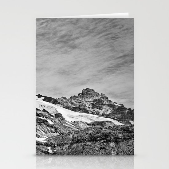 Rugged Mountain Hike Stationery Card