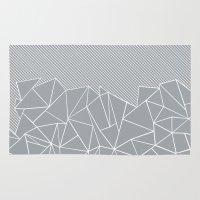 Ab Linear Grey Rug