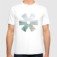 Summer Seas Mens Fitted Tee White SMALL