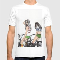 SKATER GIRLS - PART 2 - … Mens Fitted Tee White SMALL