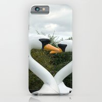 iPhone & iPod Case featuring Swans by StaceeIrvine