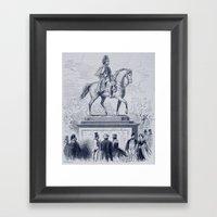 Prancing Pony Framed Art Print